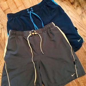 Nike swim trunks bundle